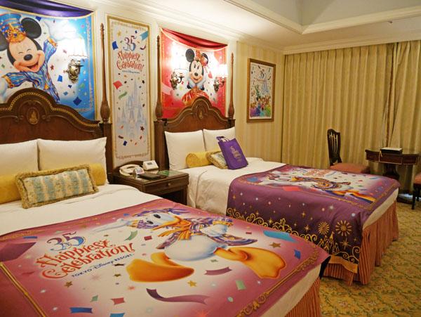東京ディズニーランドホテル 東京ディズニーリゾート35周年Happiest Celebration!デコレーションルーム 写真