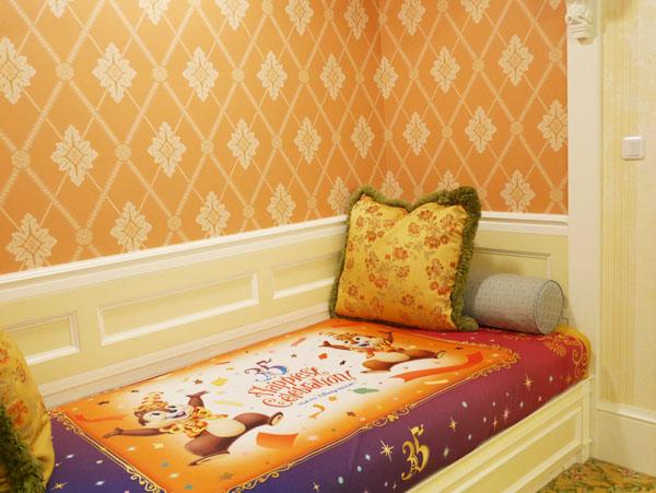 東京ディズニーランドホテル 東京ディズニーリゾート35周年デコレーションルーム 写真