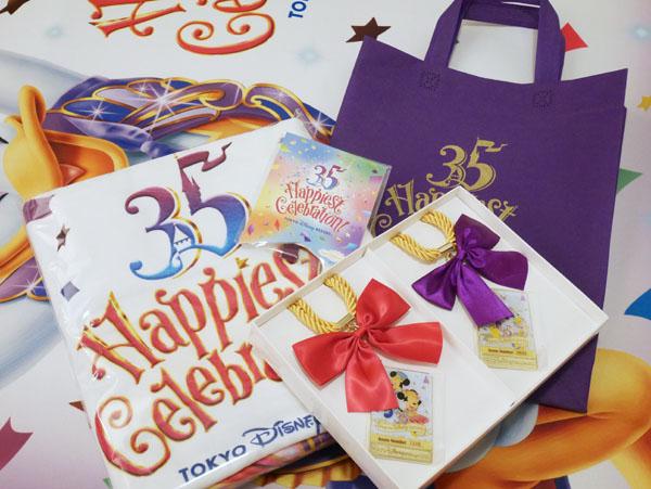 東京ディズニーリゾート35周年Happiest Celebration!オリジナルルームアイテムセット