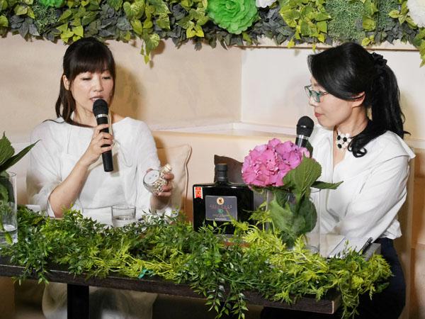 美養サラダ研究家 宮前真樹さんと雑穀クリエイターの持田怜美先生