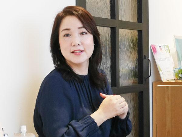 育毛・美髪専門サロン RESALON オーナー 渡辺佳恵さん
