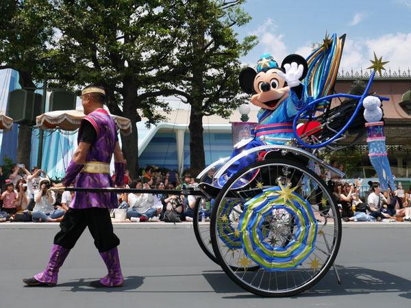 東京ディズニーランド 七夕グリーティングパレード 鑑賞レポ