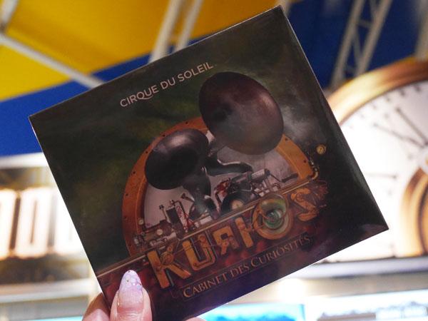 シルク・ドゥ・ソレイユ「KURIOS(キュリオス)」CD買いました!
