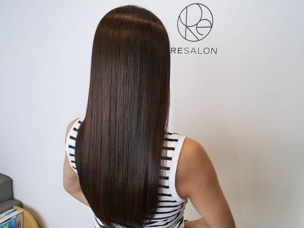 美髪専門サロン RESALON アールイーサロン 美髪トリートメント ブログレポ