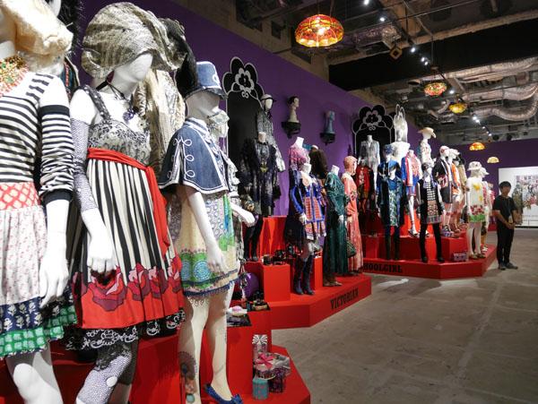 アナスイのファッションコレクション 展覧会 レポ