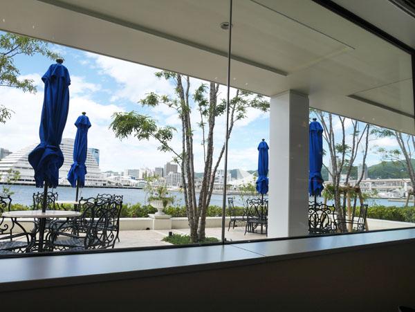神戸 ラウンジ&テラス ル・オーシャン 窓からの眺め