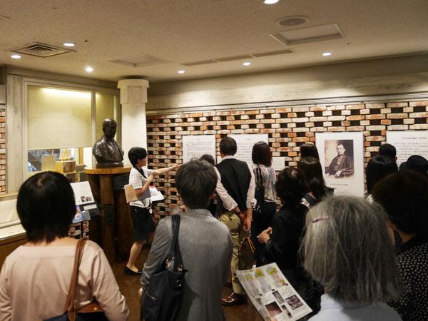 大阪市中央公会堂 ガイドツアー 展示室