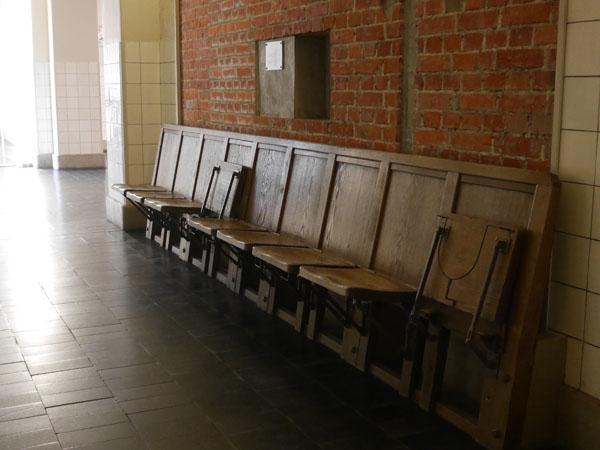 大阪市中央公会堂 ガイドツアー 保存椅子