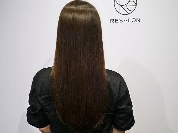 RESALONレポ 美髪コース 仕上がり 効果