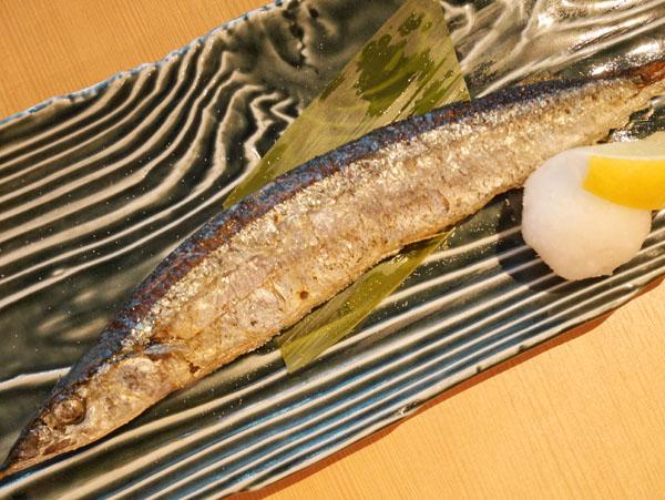 日本酒原価酒蔵 秋葉原店 秋刀魚の塩焼き