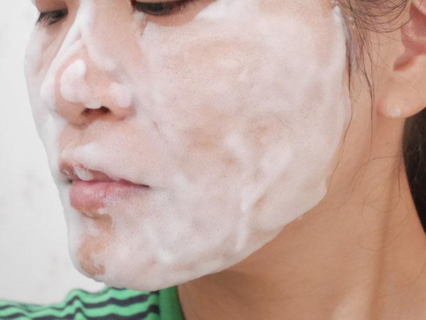 韓国コスメ セレンディビューティー バブルトックスクレンザー 使用レポート
