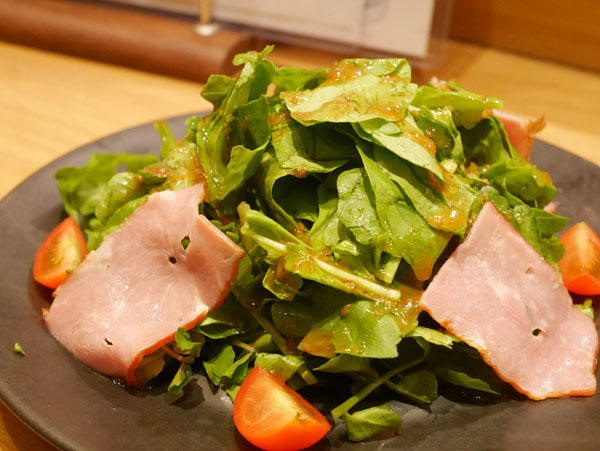 焼鳥 本田商店 クレソンとルッコラの大人サラダ