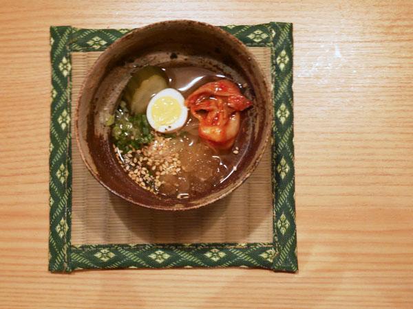 本郷三丁目 焼肉 肉亭ふたご コース料理 盛岡冷やし麺
