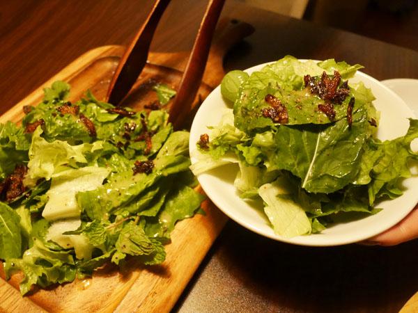 赤坂見附 肉バル Meet Meats 5バル 4種のグリーンハーブのサラダ