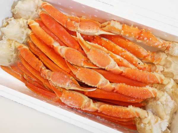 北国からの贈り物「蟹足食べ放題セット計2kg(タラバ&ズワイ)」口コミ レポート ブログ