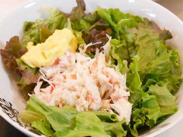 北国からの贈り物 「蟹足食べ放題セット計2kg」サラダ