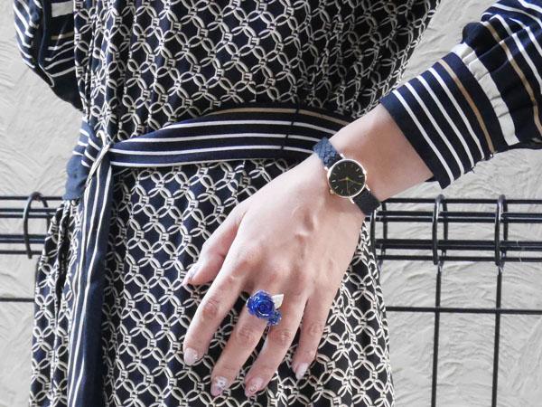 ローズフィールド 腕時計 ファッション コーディネート