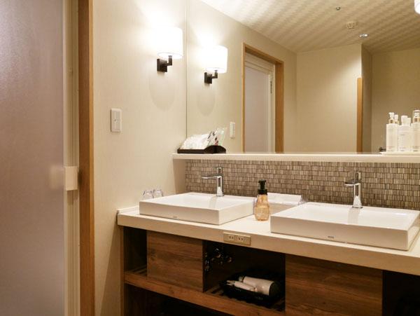 みなかみホテルジュラク リニューアル みずのね 洗面所 宿泊レポート