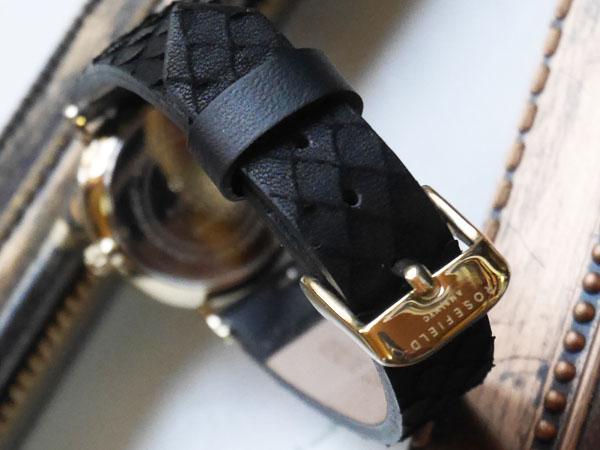 ローズフィールド 腕時計 女性用 バックル