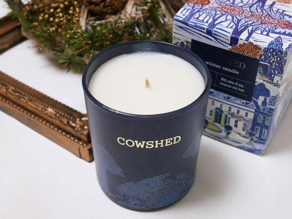 COWSHED(カウシェッド)クリスマスコフレ ウインターキャンドル