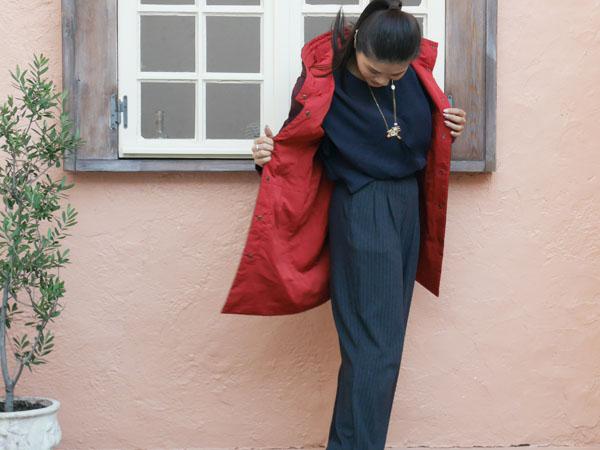 ダウンにさよなら ドゥクラッセ マジカルサーモコート 着てみた