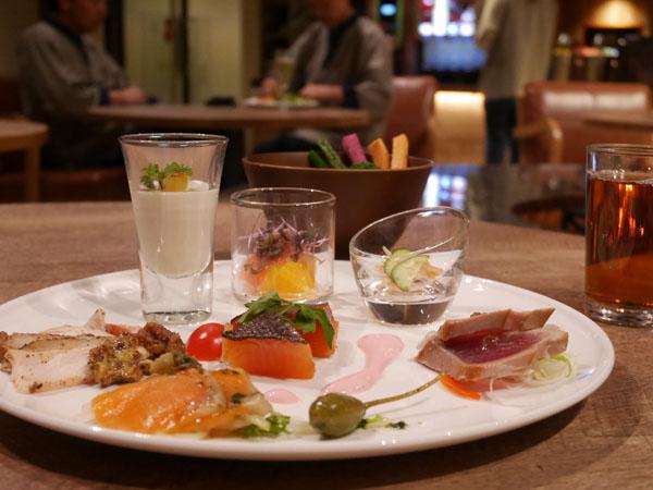 那須高原 ホテル 高級 THE KEY HIGHLAND NASU 前菜タイム
