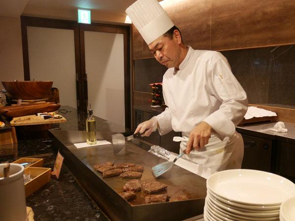 那須高原 ホテル 高級 THE KEY HIGHLAND NASU 那須野ヶ原牛のもも肉のステーキ