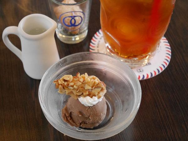 神戸 教会カフェ フロインドリーブ 本店 デザート 柚子ショコラ