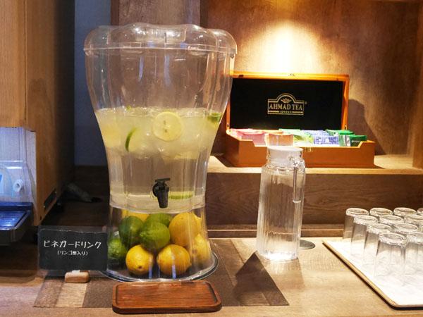 那須高原 温泉ホテル ザ・キー・ハイランド・ナス 朝食ブッフェ ビネガードリンク