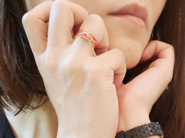 invidia (インヴィディア)指輪「リング レクタングル(W)」引っかかる?