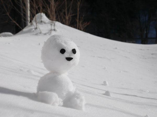 冬の水上 群馬 温泉ホテル みなかみホテルジュラク 雪だるまフォトコンテスト