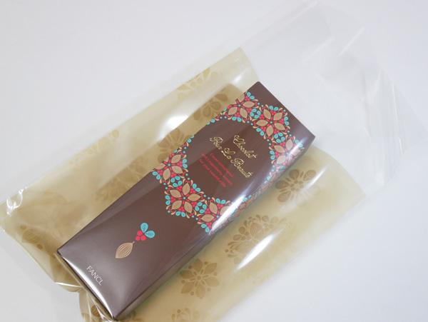 ファンケル チョコレート「ショコラ プー・ラ・ボーテ」ラッピング