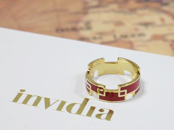 invidia (インヴィディア)指輪「リング レクタングル(W)」口コミ ブログ