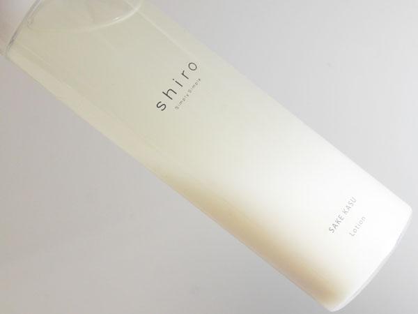 shiro(シロ)酒かす化粧水 ブログレポート 酔っぱらう?