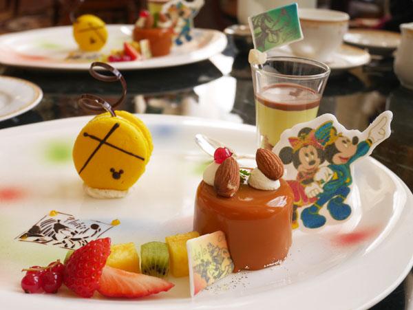 東京ディズニーランド 35周年 アフタヌーンティー スイーツ デザートプレート