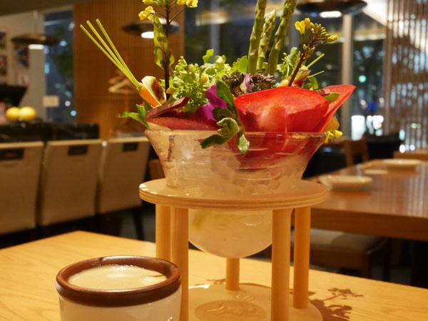 表参道ヒルズ 野やさい家めい メニュー 美味しい野菜