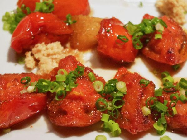 代官山・恵比寿 糖質制限レストラン ニコキッチン ひなたトマトの揚げ出し