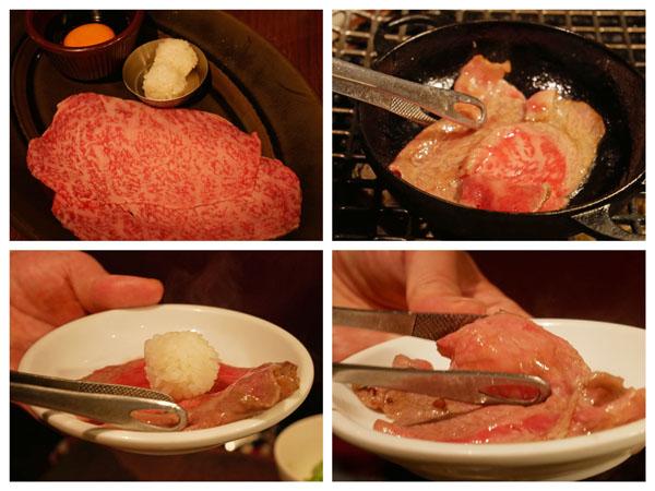 人形町 焼肉 TO-KA HANARE 鉄鍋焼きシャブ