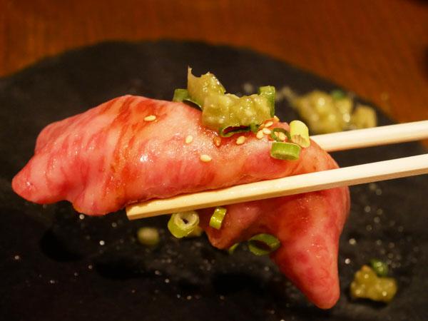 人形町 焼肉 TO-KA HANARE HANAREの極上握り