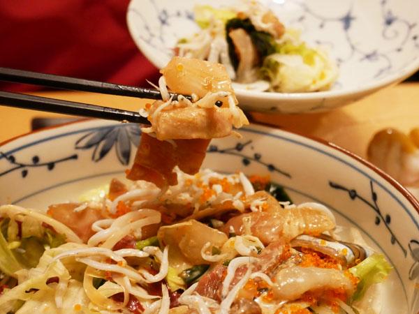 神田 おさしみ家 海鮮サラダ