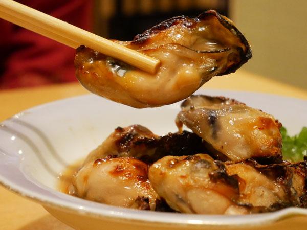 神田 おさしみ家 焼き牡蠣