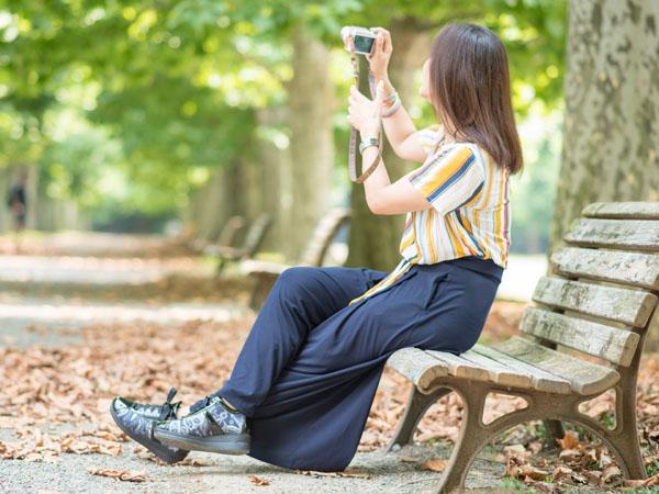 自然な写真を撮ってくれる女性カメラマン ゆるき千春さん