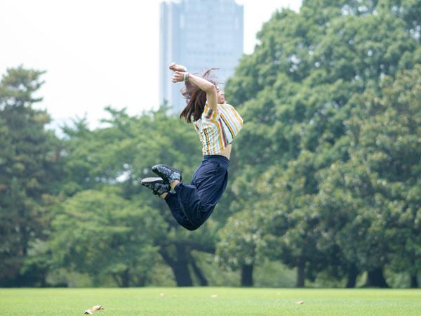 ジャンプ写真を撮ってくださったカメラマンさん