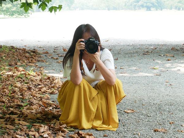 プロフィール写真撮影 女性カメラマン ゆるき千春さん