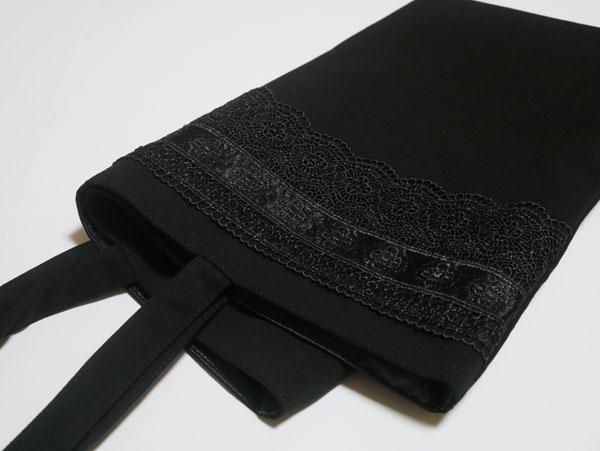 葬式用バッグ ブラックフォーマル 折りたたみバッグ