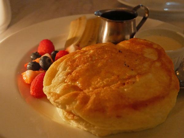 恵比寿 CAFE GITANE(カフェ ジタン)リコッタチーズのパンケーキ