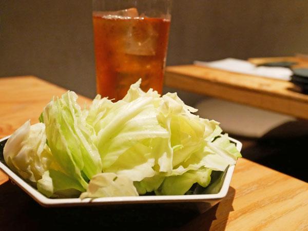渋谷で博多串焼き・野菜巻き串「どげんね」お通し
