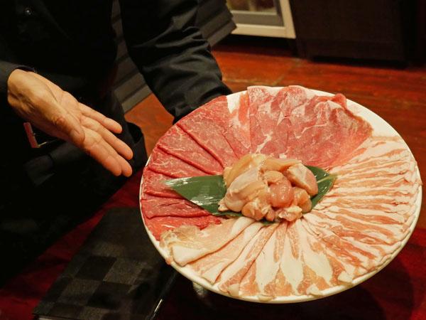 白金高輪 火鍋 三田 正宗四川二色火鍋コース 肉