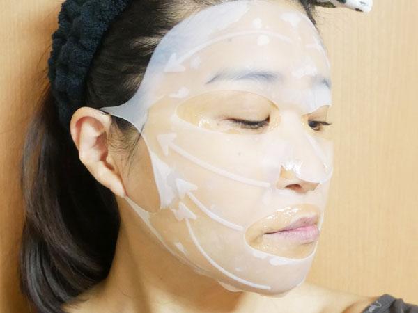 炭酸ジェルパックにモイストラップシリコンマスクを使ってみた