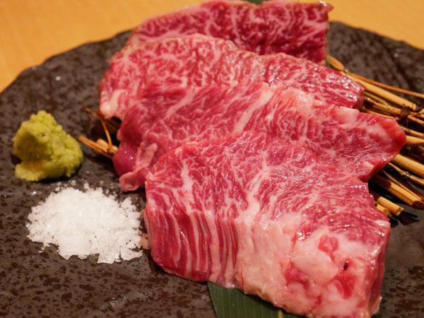 近江うし焼肉 にくTATSU銀座店 和牛極上ハラミ 希少!限定 ブログ レポート